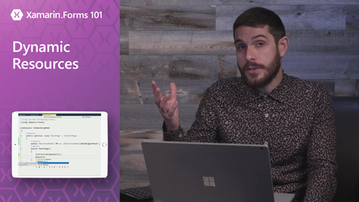 Xamarin.Forms 101: Dynamic Resources
