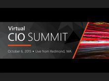 Virtual CIO Summit 2015