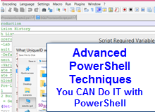 Advanced PowerShell Techniques
