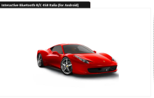 Driving the Silverlit Ferrari 458 Italia with the RC API