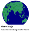"Planetary.js - ""Awesome interactive globes for the web"""