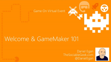 Summer School is in... Seven sessions toward crafting cool games with GameMaker: Studio