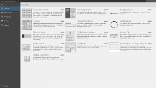 UWP++ with UWP Community Toolkit 1.1