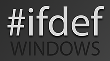 #ifdef WINDOWS