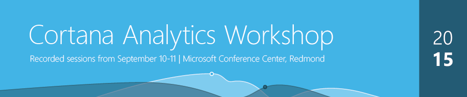 Cortana Analytics Workshop