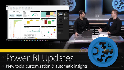 A demo tour of updates to Power BI Pro