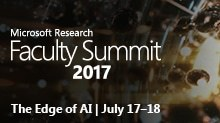 Faculty Summit 2017