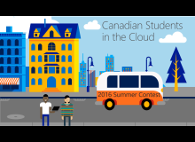Enabling Canadian Students in the Cloud