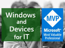 MVP: Windows and Devices for IT