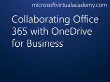 Collaborating Office 365 with OneDrive for Business