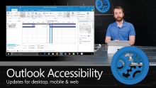 Accessibility updates in Outlook – across desktop, mobile and web