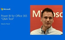 Reporterstellung in natürlicher Sprache - PowerBI for Office 365
