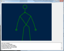 A Simple Gesture Processing Framework for the Kinect For Windows
