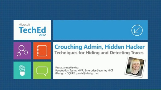 Crouching Admin, Hidden Hacker: Techniques for Hiding and Detecting Traces