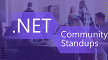 .NET Community Standups