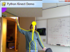 PyKinect (Yep, Python and Kinect, in Visual Studio yet!)