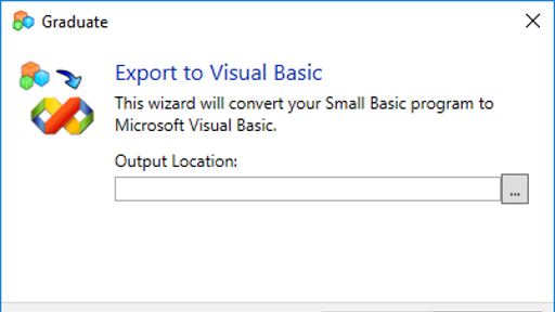 Up Level Your Small Basic to Visual Studio