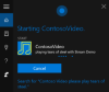 Creating Media apps on Windows 10 with a Hosted Web App