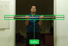 Weight-Lifting Bar Detection with the Kinect