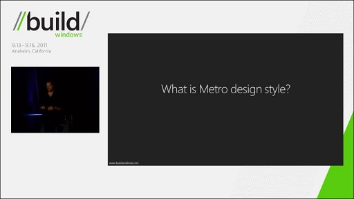 Designing Metro style: principles and personality