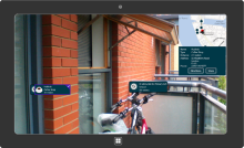 GART, Geospatial Augmented Reality, Bing Maps and Windows 8