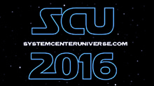 System Center Universe 2016