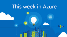 This week in Azure
