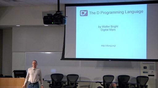 Walter Bright: The D Programming Language
