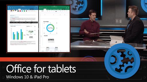 Updates to Office experiences on Windows tablets and iPad Pro