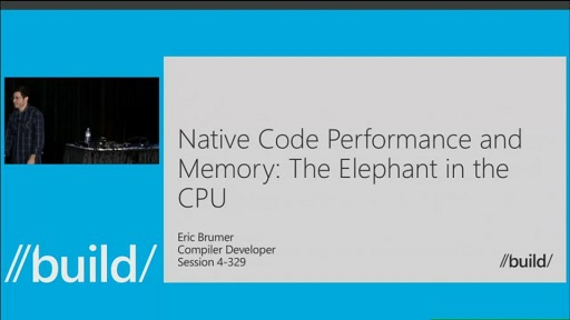Native Code Performance and Memory: The Elephant in the CPU