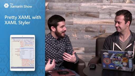 Pretty XAML With XAML Styler | The Xamarin Show