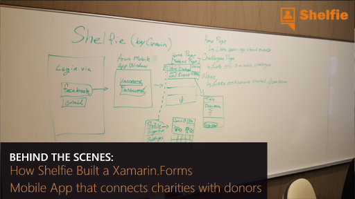 Behind the Scenes: How Shelfie Built a Xamarin.Forms mobile app that connects charities with donors