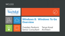 Windows 8:  Windows To Go Overview
