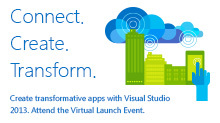 Visual Studio 2013 Launch