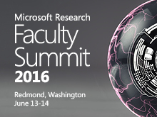Microsoft Research Faculty Summit 2016