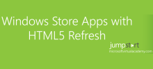 """Windows Store Apps with HTML5 Refresh Jump Start"""