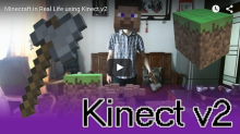 Kinect v2 Minecraft for You