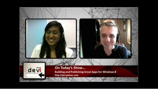 Microsoft DevRadio: Building and Publishing Great Apps in Windows 8