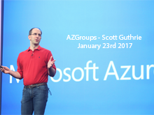 AZGroups - Scott Guthrie 2017