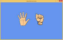 Here's a hand for Kinect for Windows v2 and XNA