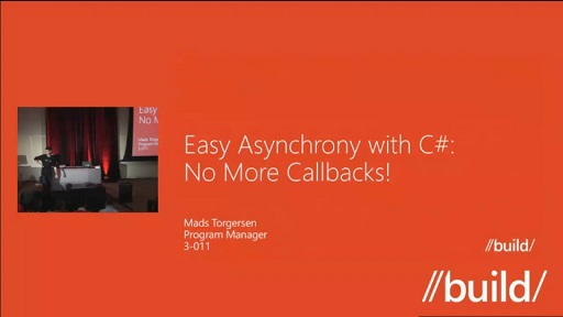 Easy Asynchrony with C#: No More Callbacks!