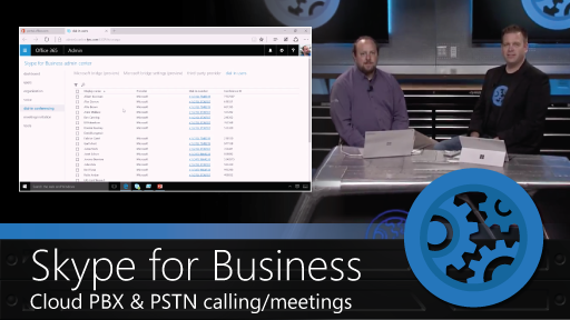 First look at Cloud PBX and PSTN meetings in Skype for Business