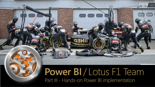 Hands-on with Lotus F1 Team's Power BI implementation