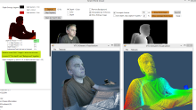 Kinect v2 Point Cloud