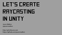 Raycasting in Unity