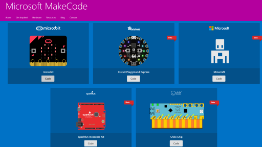 Maker Code with MakeCode!