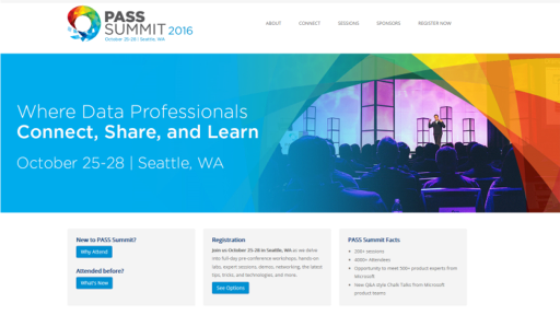 PASS Summit 2016: Where Data Professionals Connect, Share & Learn