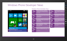 Windows 8, Windows Phone 8, some PCL and your social world = Social Media Dashboard Sample
