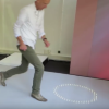 Kinect to Interactive Luminous Carpets