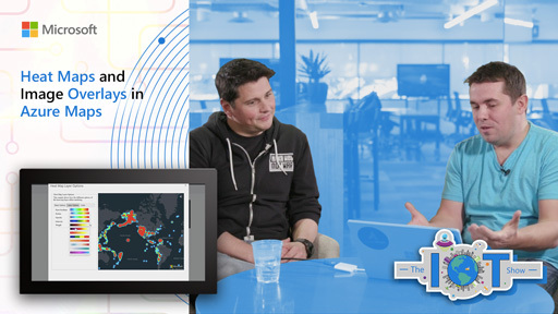 Heat Maps and Image Overlays in Azure Maps